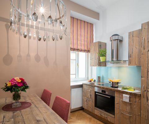 Küche - Grande Suite im Appartement-Hotel an der Riemergasse