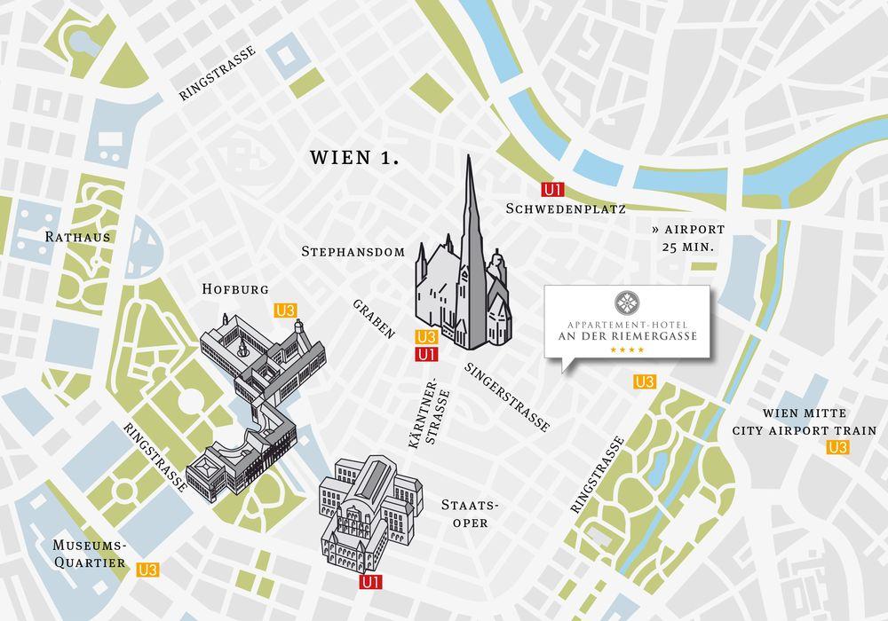 Top Lage im Zentrum von Wien - Appartements Riemergasse