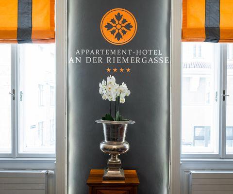 Rezeption - Appartement Hotel an der Riemergasse
