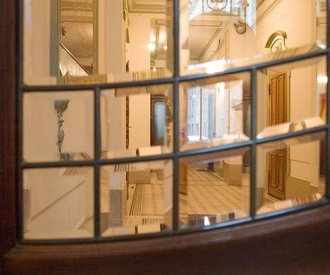 Stiegenhaus im Appartement-Hotel an der Riemergasse