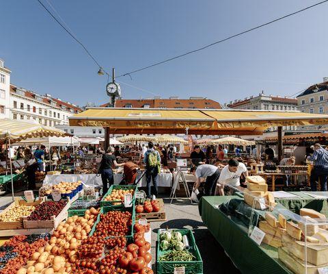 Karmelitermarkt | © WienTourismus/Paul Bauer