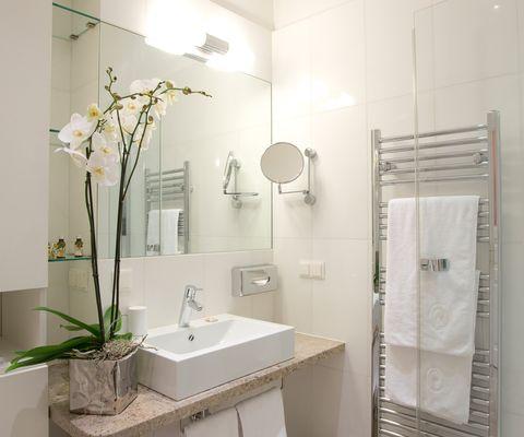 Badezimmer - Studio Superior im Appartement-Hotel an der Riemergasse