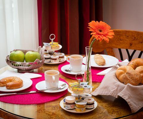 Das typische Wiener Frühstück - Appartement-Hotel an der Riemergasse